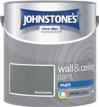 Johnstones Steel Smoke Coloured Emulsion